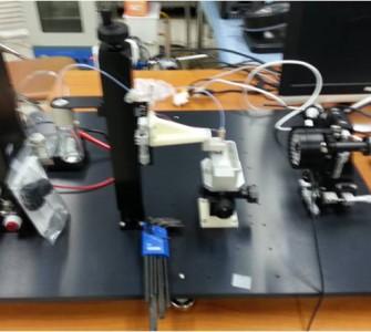 Drop watcher for Microfab inkjet head